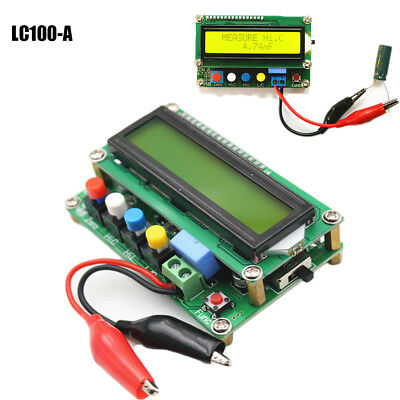 LC100-A High Precision Digital Inductance Capacitance L/C Power Meter Board hh