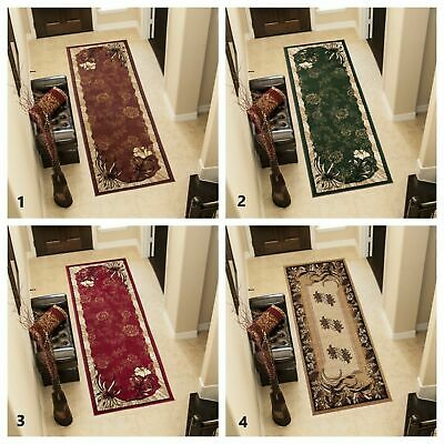 Modern Hall Carpet Runner Floral Pattern for Living Room Hallway Stairs New Rug