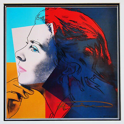 32 andy warhol handsigniert ingrid bergman herself