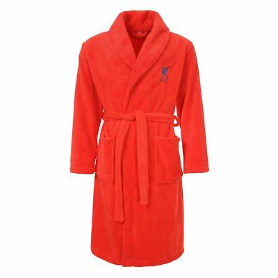 Liverpool FC LFC Mens Red Bathrobe Dressing Gown NWT Official