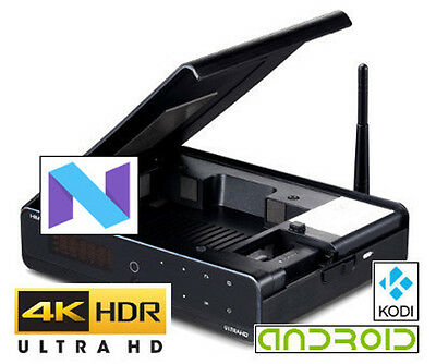 """HiMedia Q10 Pro Android 7 Ultra-HD 4K60 HDR 3.5"""" HDD Android Media Box"""