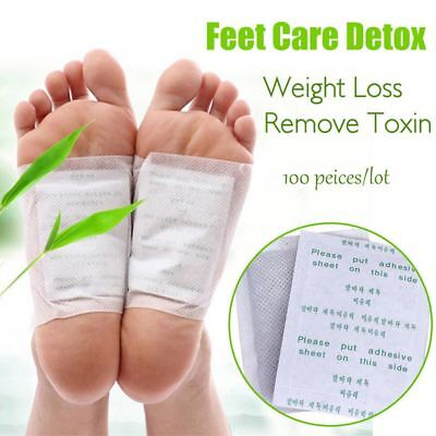 10/20/50/100PCS Foot Pads With Adhesive Patches Chinese Medicine Paste Detox