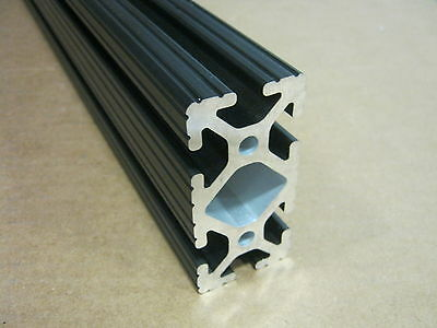 8020 Inc 1.5 x 3 T-Slot Aluminum Extrusion 15 Series 1530 x 36 Black H1-3