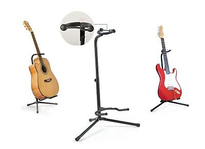 Folding Universal Tripod Guitar Stand in Black