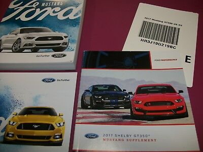 Ford Mustang Shelby Gt  Owners Manual With Free Priority Shipping