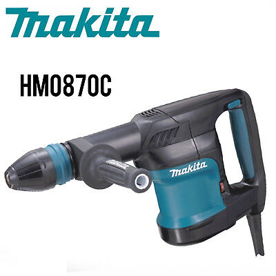 Makita HM0870C 11 lb. Demolition Hammer, Accepts SDS‑MAX Bits w/Full Warranty