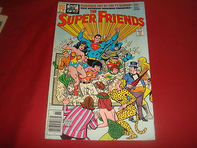 THE SUPER FRIENDS #1  DC Comics 1976  VF