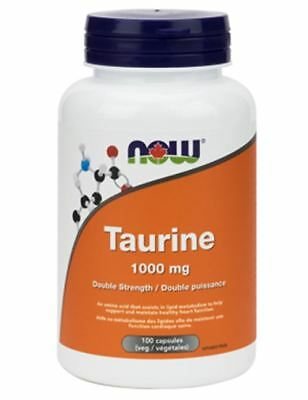 NOW Foods Taurine 1000 mg (250 VegCaps)