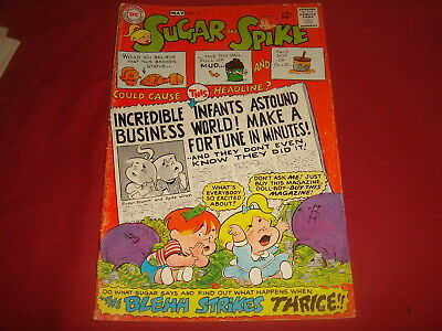 SUGAR AND SPIKE #76 Sheldon Mayer DC Comics 1968 VG