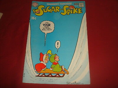 SUGAR AND SPIKE #88 Sheldon Mayer DC Comics 1969  FN/VF