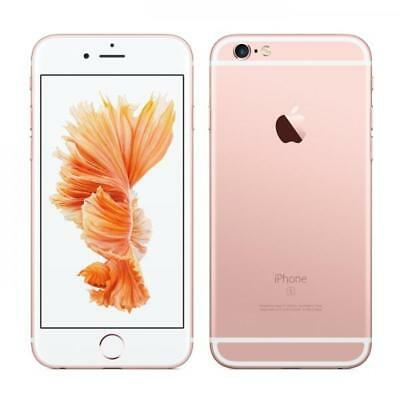 Apple iPhone 6s Plus - 128GB - Rose Gold (Unlocked) A1687 (GSM) (MKV22LL/A)