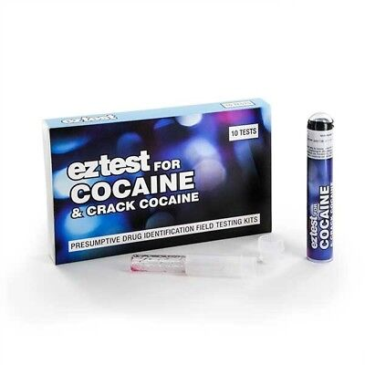 EZ Test Kit for Cocaine and Crack/MDVP  for Cocaine Identification x10 tests
