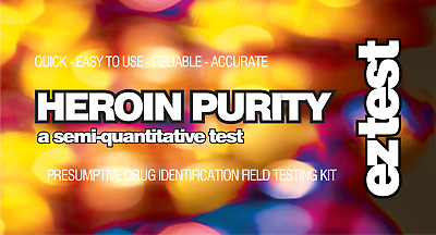 EZ Test Kits for Heroin x 10 tests