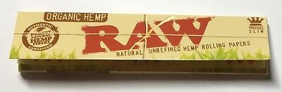 New - Pack Of 32  Classic Raw - (King Size) Rolling Papers