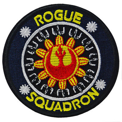 Star Wars Rogue Squadron Patch Iron On Sew Movie Embroidered Cosplay Rebel