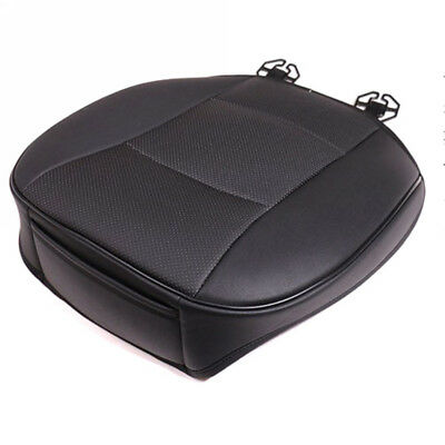 3D PU Leather Deluxe Car Cover Seat Protector Cushion Front Cover Universal