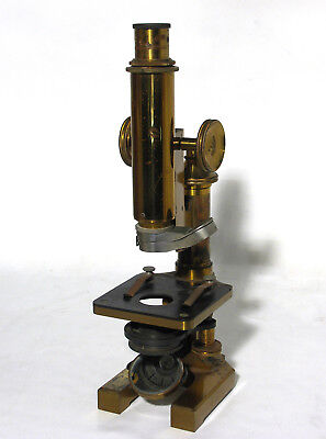 Antique Brass Microscope by R&J Beck Ltd London – No 24728 - Circa 1900