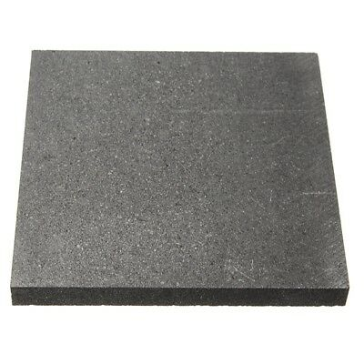 100*100*10mm 99.9%Pure Graphite Block Electrode Rectangle Plate L7O5