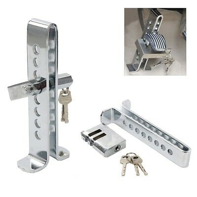 Brake Pedal Lock Security Car Stainless Steel Clutch Lock Anti-theft Device CA