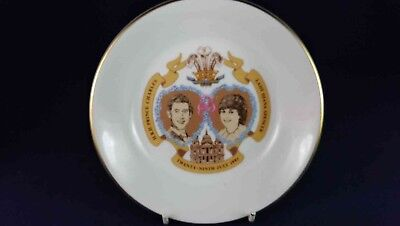 Royal Worcester Charles & Diana Wedding 1981 Bowl
