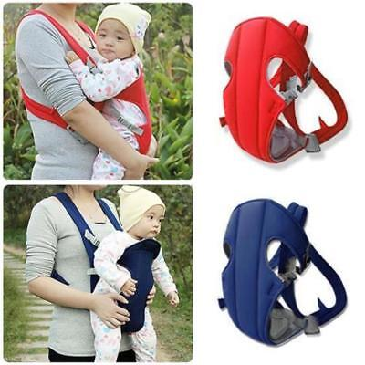 Newborn Strap Baby Infant Adjustable Carrier Sling Wrap Rider Backpack Pouch Red