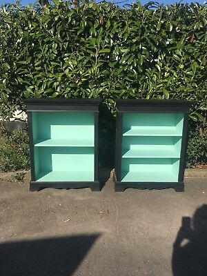 French Bookshelves - Matching Pair - ALCOVE - 103cm high x 83cm wide