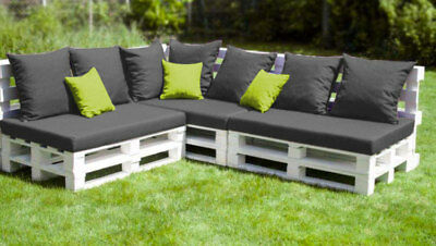 matelas palette banquette terrasse jardin coussin am nagement ext rieur eur 109 00 picclick fr. Black Bedroom Furniture Sets. Home Design Ideas