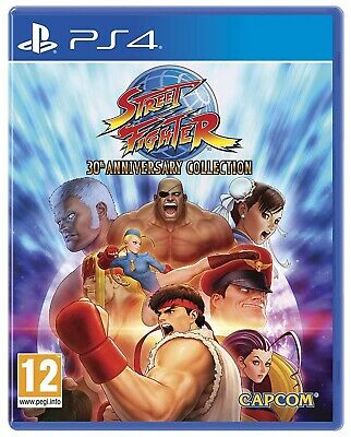 Street Fighter 30Th Anniversary Edition Ps4 Videogioco Play Station 4 Italiano