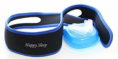 New Ultimate Anti Snore Chin Strap Adjustable Snoring Jaw Strap Happy Sleep E21