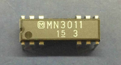 MN3011 MATSUSHITA IC  3328-Stage Low Noise BBD With 6 TAPs DIP-12 ''UK COMPANY''