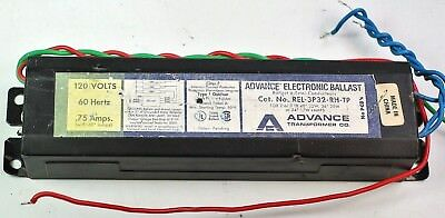 Advance Transformer Co. Standard REL-3P32-RH-TP Instant Start Electric Ballast