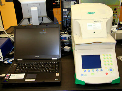 Bio-Rad iQ5 Multi-color Real Time RT PCR Detection iCycler Thermal Cycler w/ PC