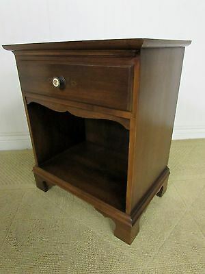 Vintage Hitchcock Coventry Maple Nightstand, End Table, Signed And Stencilled