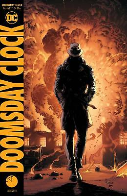 Doomsday Clock #4 Of 12 Variant Dc Nm
