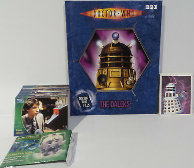 Doctor Who : The Daleks Book, Series 3 Trading Cards,30Th Anniversary Cards (Bp)