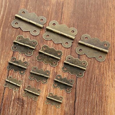 Classic Butterfly Hinges Cupboard Cabinet Drawer Jewelry Box Decorative Hinges