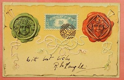 1904 Germany Pc Embossed Stamp