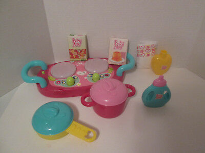 Baby Alive Cook n Care Set Replacement Parts Pieces Accessories Stove Top
