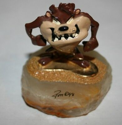 Tasmanian Devil Taz Collectible Figurine Ron Lee, Signed 145/2500