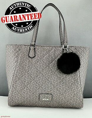Sac Authentique Femme Noir Fortuna Original Guess Tote Neuf Satchel JT3F1lKcu