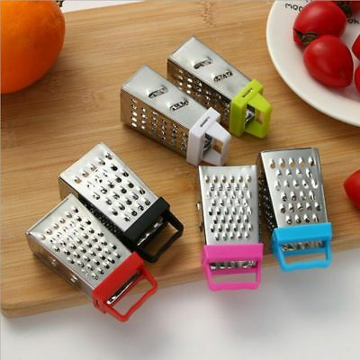 Fruits And Vegetables Four-sided Grater Multifunctional Mini Stainless Steel