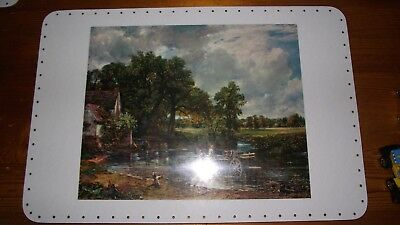 """4 New Tray Base 11 1/2"""" x 17 1/2"""" for Basket work Vintage Retro Pictures"""
