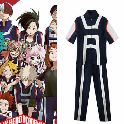 My Hero Academia Boku no Hero Academia Kohei Horikoshi gym Cosplay Costume New