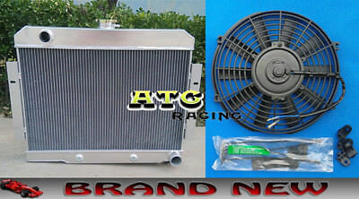 NEW Aluminum Radiator 1972-1986 Jeep CJ GM Chevy Config CONVERSION 1973 1985 83