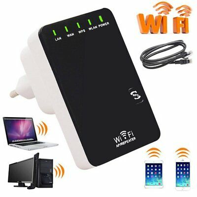 Neu Mini Router 5in1 Repeater Verstärker WPS Wireless 300 Mbit Wifi WLAN Client