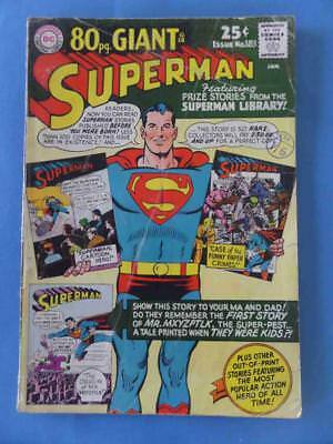 Superman 183 1966 80 Page Giant!