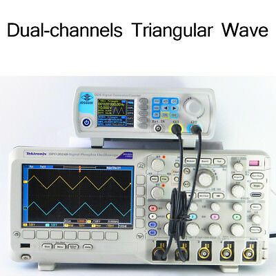 6pcs 40MHz Dual-channel DDS Arbitrary Waveform Function Signal Generator+CD AU