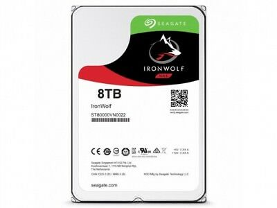 Seagate 5072232000 IronWolf ST8000VN0022 8000GB Serial ATA III Interne Fest ~D~