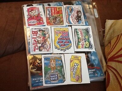 2005 Topps Wacky Packages Series 2 Ans2 Tattoo Chase Cards x8