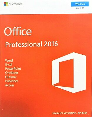 Microsoft office home and business 2016 64 bit